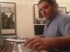 Max Bacchin recording Benny Greb