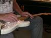 Mike 3rd on slide guitar