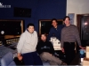 Mike 3rd with Trey Gunn, Ronan Chris Murphy, Max Bacchin at Paradise Sound, Index, USA