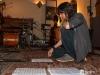 Filippo Galvanelli working on Mike 3rd album