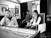 Mike 3rd, Alberto Stocco, Gigi Sinkope recording session