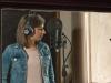 Sofia Borgo recording on Mike 3rd album